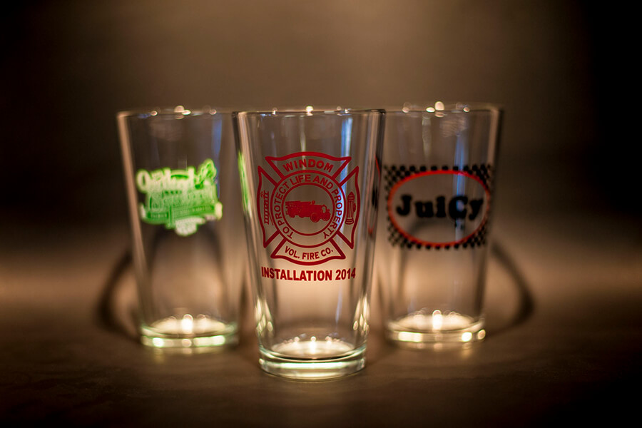 Beer and Drinking Glasses