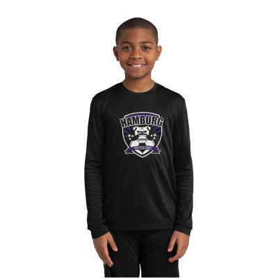 Sport-Tek Youth Dri-Fit Long Sleeve YST350LS