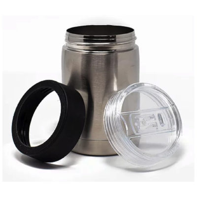 Three-in-One Stainless Steel Vacuum Koozie - Pro10