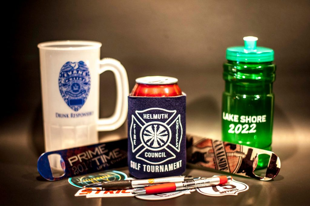 custom branded corporate apparel and promotional items